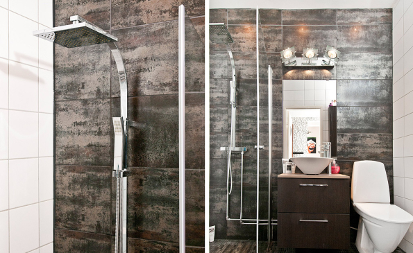 Badrum badrum modernt : Modernt och stilfullt renoverad 2,5:a. - Livsrum Fastighetsförmedling